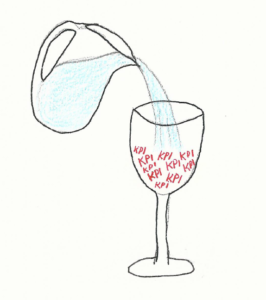 Putting water in your KPI wine